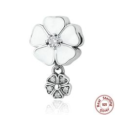 d7d66612f pendant charms Picture - More Detailed Picture about WOSTU Hotsale 100% 925  Sterling Silver Jewelry POETIC BLOOMS PENDANT Charms fit Pandora Bracelet  Beads ...