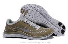 Mens 511457-003 Light Bone Reflect Silver Iguana Nike Free 3.0 V