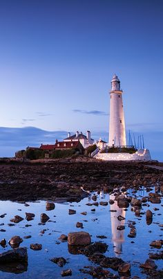 Saint Mary's Lighthouse, Whitley Bay, England. I want to go see this place one day.Please check out my website thanks. www.photopix.co.nz