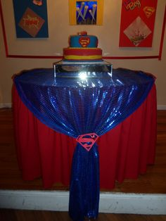 Super Baby Shower | CatchMyParty.com
