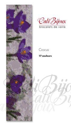 PATRON : Crocus par CALIBIJOUX sur Etsy