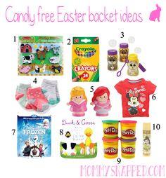 Candy free basket ideas