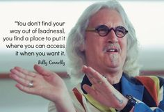 Scottish comedian Billy Connolly on mining his Parkinson's Disease diagnosis for taboo-busting material.