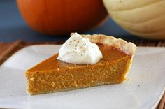 This mouthwatering pumpkin pie is perfectly flavored with a trio of spices. Bake this 5-star pumpkin pie for your Thanksgiving dinner table.