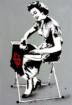 Anarchy definition : perfect example of words that occurs with multiple meanings. In the early century, it was written that Anarchy means 'Absence of government' Punk Art, Arte Punk, Protest Posters, Bansky, Art Watch, Political Art, Stencil Art, Stencils, Street Art Graffiti