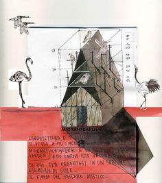 Beniamino Servino. Study for Bird cathedral.