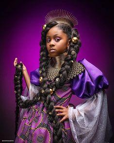 """Black Princess"". Series by @creativesoulphoto  @shoppeblack - African Origins, Natural Beauty Tips, Natural Hair Journey, Rapunzel, Girl Power, Beauty Hacks, That Look, Image, Beautiful"