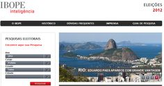 IBOPE anuncia novo portal e lança hotsite sobre eleições 2012 - Web Expo Forum 2012