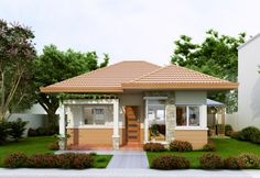 simple small house design in philippines, simple house plans in philippines, simple small house plans in the philippines, simple small bungalow house design philippines, simple small house interior de House Roof Design, Small House Interior Design, Simple House Design, Modern House Design, Simple Interior, Simple Designs, House Plans Uk, Simple House Plans, Bedroom House Plans