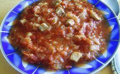 Tomato cabbage with meat - Húsos paradicsomos káposzta recept Barna Pap Mónika konyhájából - Receptneked.hu