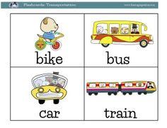 Transportation Flashcards