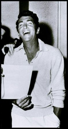 Dean Martin with a lot of laughs......