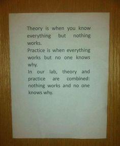 Teórico y práctico