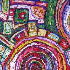 hundertwasser, venetian glass, colusso mosaico
