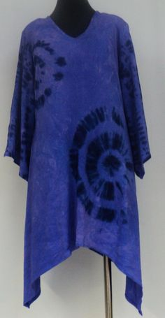 Size small bamboo tie dye dress in hues of by qualicumclothworks, $62.00
