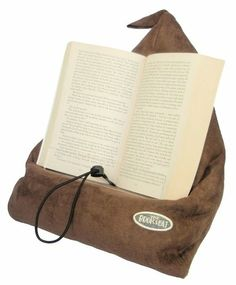 Amazon.com: The Book Seat - Book Holder and Travel Pillow - Mocha: Office Products