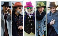 Top 10 Street Style Trends From Men's Fashion Week AW16 - Felt Fedoras