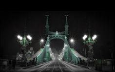 FREEDOM BRIDGE, BUDAPEST, HUNGARY