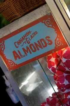 Cinnamon Glazed Almonds at the Magic Kingdom #WDW