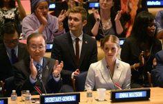 Il discorso tenuto dall'attrice Emma Watson alle Nazioni Unite sulla parità uomo - donna