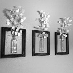 DIY home decor for scratch L!O!V!E! I!T!!!!!!!!!!!!!!!!!! http://wohnideen.minimalisti.com/selber-basteln/25-kreative-einfache-wandgestaltung-ideen.html