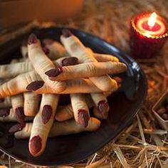 Enge heksenvingers.... koekjes voor Halloween!