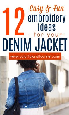 Learn the basics of how to add hand embroidery to your denim jackets. Embroidered denim jackets are trendy and fun to make. A must-have for summer outfits. With these easy tips, you can transform your denim jacket into something stunning. #denimjacket #embroideredjacket #DIYclothes #clothesrefashion Denim Jacket Embroidery, Embroidered Denim Jacket, Hand Embroidery, New Outfits, Cool Outfits, Summer Outfits, Clothes Refashion, Diy Clothes, Apple Sauce