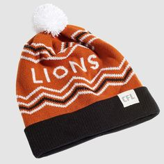 CFL BC Lions Toque. Dress in style this winter with the Lions toque. Whether you're just walking through the streets of Vancouver or in the stands at BC Place, make sure you #RepYourHood with this limited edition toque.  An official Tuck Shop and CFL collaboration.  Proudly Made in Canada. Bc Place, Lions, Vancouver, Collaboration, Beanie, Walking, Canada, Knitting, Winter