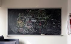 Where Theory Meets Chalk, Dust Flies A photo survey of the blackboards of mathematicians. Photographs by Jessica Wynne