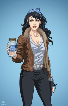 Mary Lou Archer AKA Moonshine commission by phil-cho on DeviantArt