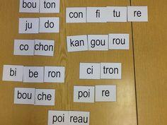 Puzzle de syllabes