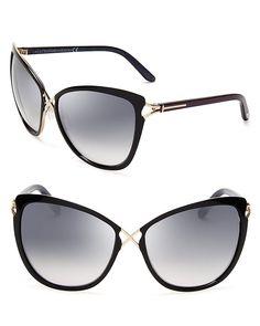 Tom Ford Celia Cat Eye Sunglasses   Bloomingdale's twitter.com/...