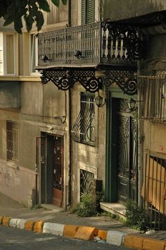 Balconies in Galatasaray - Istanbul Places Around The World, All Over The World, Around The Worlds, Asia, Istanbul Travel, Float Your Boat, Famous Places, Most Beautiful Cities, Istanbul Turkey