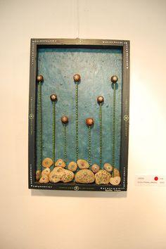 Cuadros hechos con piedras de playa buscar con google piedras pintadas pinterest arte de - Cuadros hechos con piedras ...