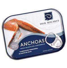 Anchoas de Santoña Don Bocarte 13-15 filetes