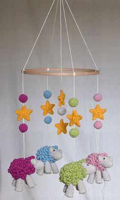 crochet: baby mobile no. 2 More