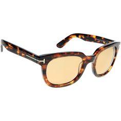 e7b4fa17a3 Tom Ford Campbell FT0198/S 52J Sunglasses Tom Ford Sunglasses, Tortoise  Shell, Toms