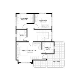 Four Bedroom Two Storey Contemporary Residence-SECOND-FLOOR-PLAN