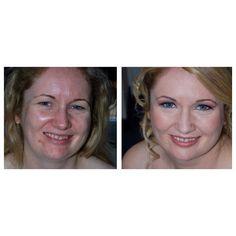 Makeup prima e dopo