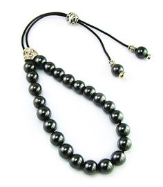 Hematite Greek Komboloi Worry Beads with by sunnybeadsbythesea, $16.90