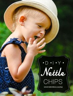 """DIY Nettle Chips 