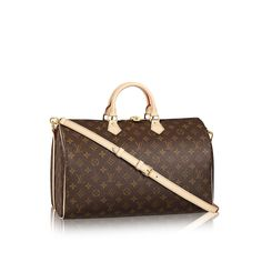 Discover Louis Vuitton Speedy Bandouliere 40 Capture traditional Louis  Vuitton style with the Speedy Bandoulière 40 in Monogram canvas. 0f1f525cffb