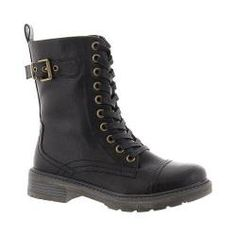 Shop for Women's Wanderlust Kolbi Combat Boot Black Polyurethane. Get free shipping at Overstock.com - Your Online Shoes Outlet Store! Get 5% in rewards with Club O!