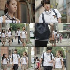 Hi! School - Love On Korean Drama List, Watch Korean Drama, Hi School Love On, Angel Show, Best Kdrama, Drama Fever, Kim Sejeong, Bts Book, Romantic Moments