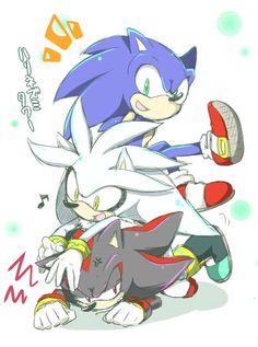 Sonic, Silver & Shadow