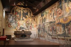 Saint John's Oratory, Urbino, Le Marche  Stunning Medieval frescoes
