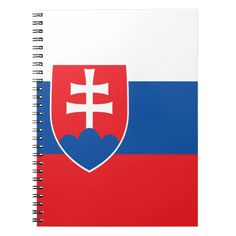 Shop Slovakia Flag Notebook created by wowsmiley. Slovakia Flag, Symbol Design, Political Events, Lined Page, Custom Notebooks, National Flag, Business Supplies, Artwork Design, Invitation Cards