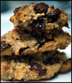 Try these Chocolate Chip Cookies! Perfect for holiday baking, healthy, AND delicious (can you believe it!?) #cookies #baking #healthy #wholefoods #skinnyms