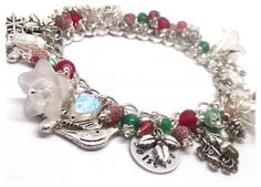 The Holly King Winter Solstice Pagan Bracelet
