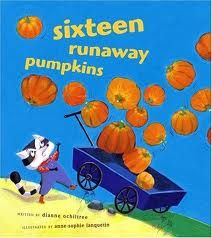 Counting 1-16 using pumpkins. Pumpkin themed. (By: Dianne Ochiltree).